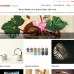 Art in Action Website