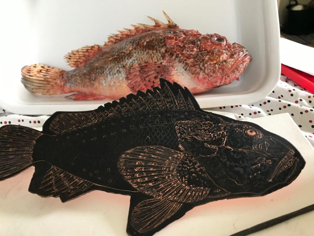 Scorpion Fish Plate